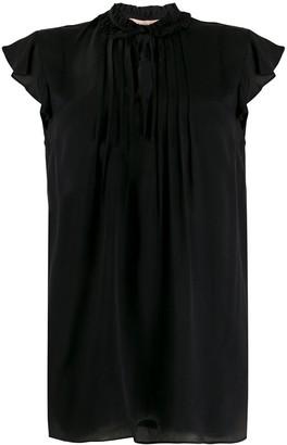 Twin-Set Ruffle Sleeve Blouse