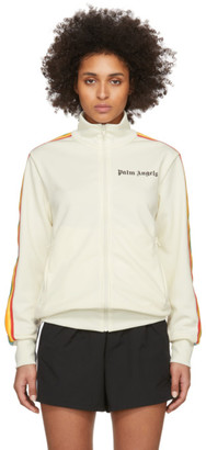 Palm Angels Off-White Rainbow Track Jacket
