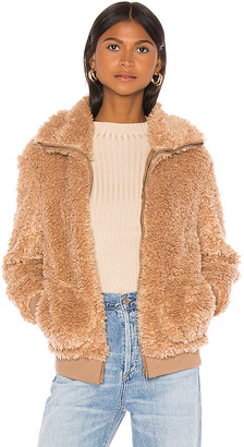 BB Dakota Teddy Or Not Bomber Jacket