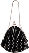 Saint Laurent Small Glitter Dots Serpent Purse