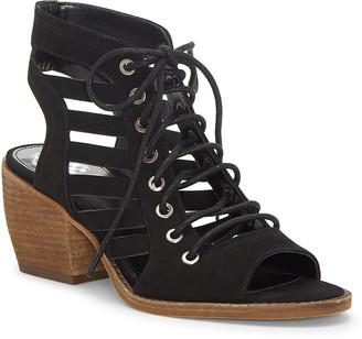 Vince Camuto Women's Sandals BLACK - Black Chesten Leather Sandal - Women