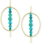 Ippolita 18k Nova Hinge Oval Earrings