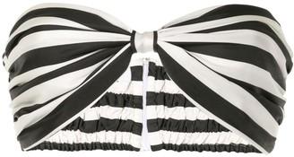 Bambah Arayas striped bralet top