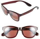 Maui Jim Women's Hana Bay 51Mm Polarizedplus2 Sunglasses - Burgundy/ Maui Rose