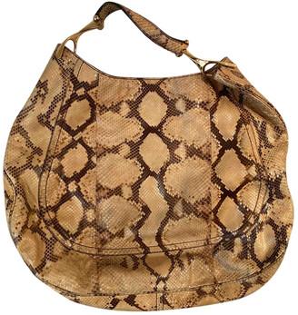 Alexander McQueen Beige Exotic leathers Handbags