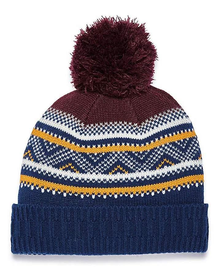 4d18ad7e4 Capsule Fairisle Bobble Hat