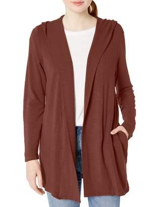 Monrow Women's Hooded Cardigan