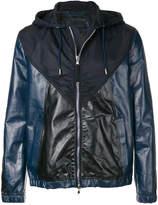 Diesel Black Gold hooded zipped jacket