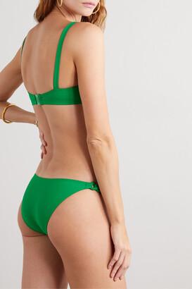 Eres Gourmette Bracelet Braided Bikini Briefs - Green
