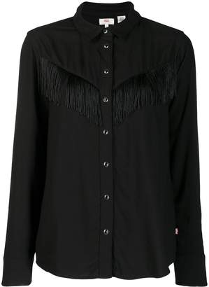 Levi's fringed shirt