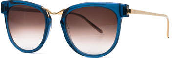 Thierry Lasry Choky Square Sunglasses, Blue