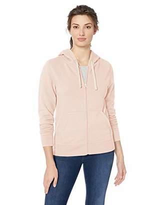 Amazon Essentials Women's French Terry Fleece Full-Zip Hoodie, -, X-Large