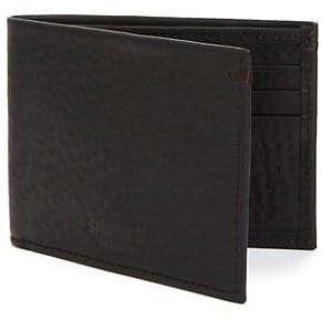 Shinola Leather Bifold Wallet