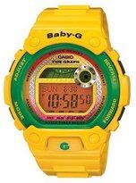 Casio Women's Baby-G BLX100-9 Yellow Resin Quartz Watch with Dial