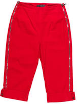 McQ by Alexander McQueen Mid Rise Zippered Capris