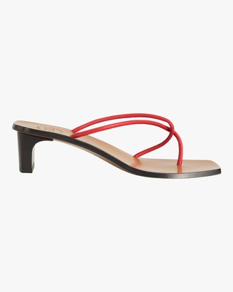 ATP ATELIER Red Panza Strappy Sandal