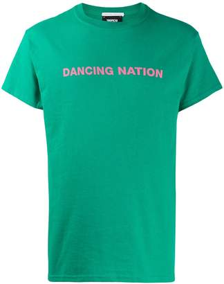 Societe Anonyme Dancing Nation-print T-shirt