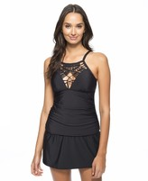 Athena Cabana Solids High Neck Tankini