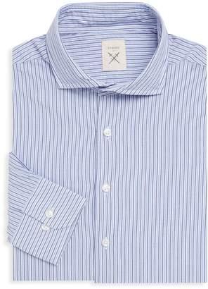 Strong Suit Clothing Espirit Striped Cotton Dress Shirt