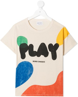 Bobo Choses Play abstract print T-shirt