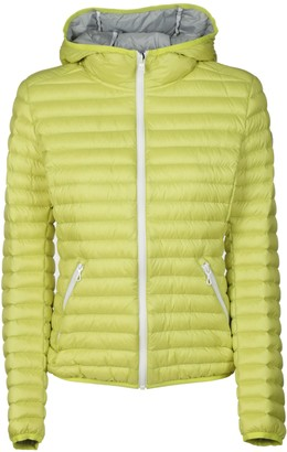 Colmar Side Zip Pocket Hooded Padded Jacket