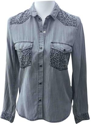 The Kooples Grey Denim - Jeans Top for Women