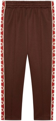 Gucci Children's technical jersey jogging bottoms