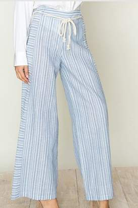 Fashion On Earth Stripe Wide Leg Pants