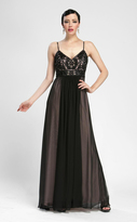 Sue Wong Sleeveless Embellished A Line Gown N3402