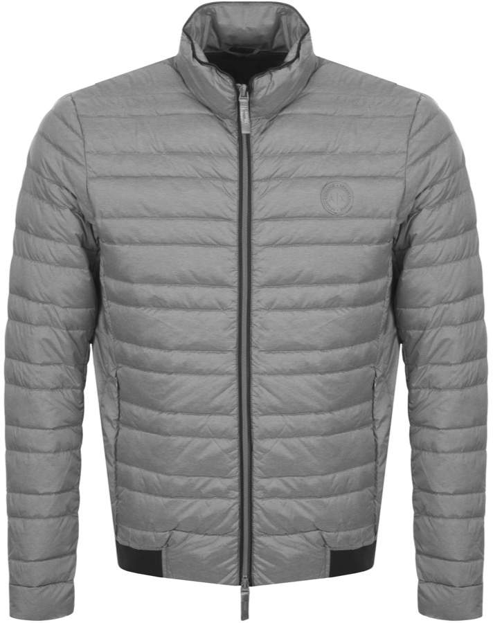 42733fd2d3 Quilted Down Jacket Grey
