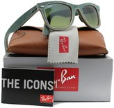 Ray-Ban RB2140 Sunglasses Blue Jeans w/ Gradient (1166/3M) 2140 11663M Authentic