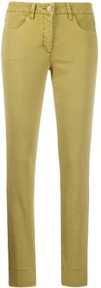 Luisa Cerano Plain Skinny Trousers