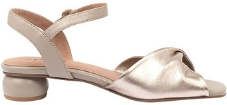 Supersoft By Diana Ferrari Swanney Pale Taupe Champagne Sandal