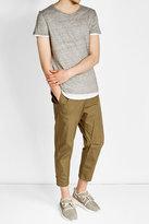 Majestic Layered Linen T-Shirt