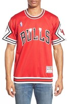 Mitchell & Ness Men's 'Chicago Bulls' Authentic Mesh Warm-Up Jersey