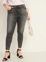 Old Navy High-Waisted Secret-Slim + Waistband Plus-Size Rockstar Super Skinny Jeans