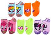 Asstd National Brand Girls 5 Pair My Little Pony No Show Socks