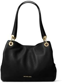 MICHAEL Michael Kors Raven Pebbled Leather Tote