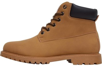 Board Angels Womens Cleat Sole Boots Tan