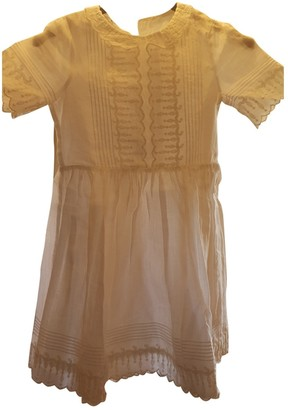 LES COYOTES DE PARIS White Cotton Dresses
