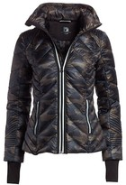 Thumbnail for your product : Blanc Noir Reflective Detail Camo Puffer Jacket