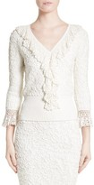 Michael Kors Women's Crochet Trim Soutache Top