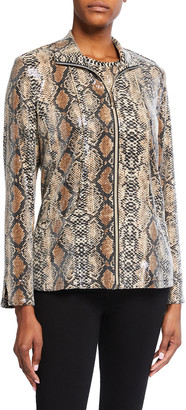 Berek Plus Size Sparkling Cobra Jacket