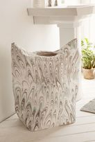 Urban Outfitters Marble Swirl Standing Laundry Bag Hamper