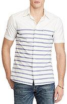 Polo Ralph Lauren Standard-Fit Stripe Short-Sleeve Woven Shirt