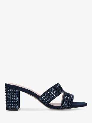Carvela Kianni Embellished Block Heel Mules