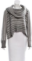 Yigal Azrouel Oversize Striped Sweater