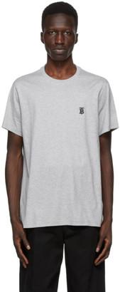 Burberry Grey TB Monogram New Parker T-Shirt