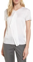 BOSS Women's Ilanea Stretch Silk Blouse