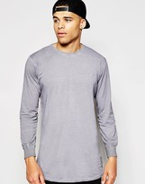Antioch Long Sleeve T-Shirt In Oil Wash